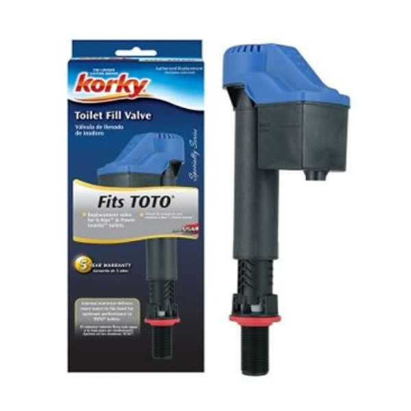 Fits G-Max Power Gravity Toilets Korky 528T Replacement TOTO Toilet Fill Valve